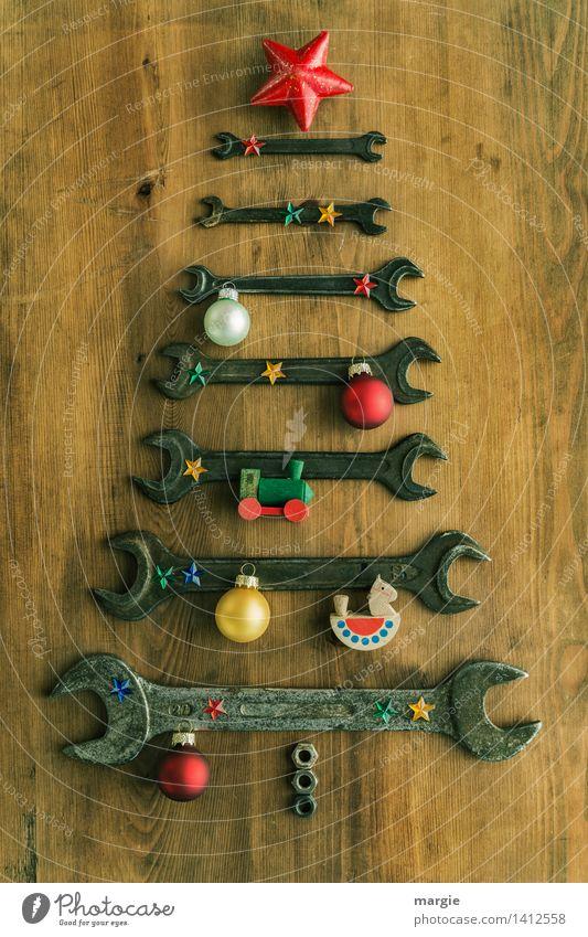Weihnachtsbaum für Handwerker II Freizeit & Hobby Spielen Basteln Modellbau Feste & Feiern Weihnachten & Advent Beruf Dienstleistungsgewerbe Werkzeug