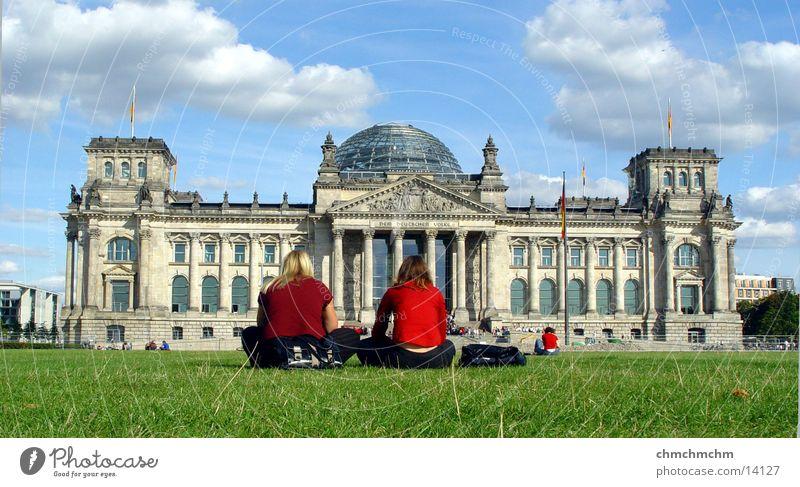 rrrrrreeeichstag Frau Berlin Architektur Perspektive Politik & Staat Deutscher Bundestag