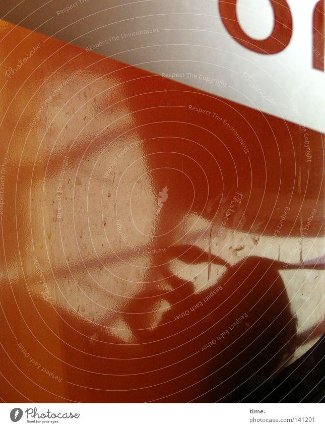 Rätsel der Moderne (III) rot dreckig glänzend ästhetisch einzigartig Anschnitt Bildausschnitt