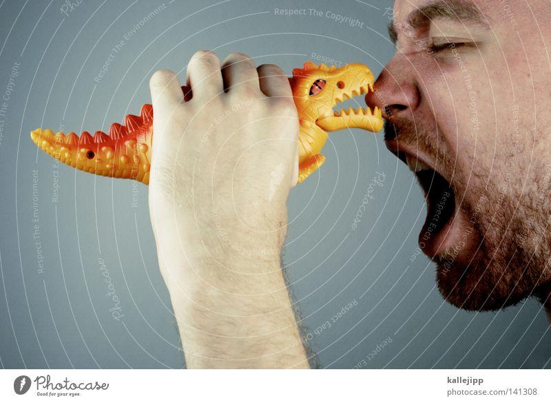 D60 Drache Dinosaurier Kanton Uri Lummen Tier Spielzeug Vergangenheit Spielen Tierfuß Zehen Fressen Fleischfresser Kitzel Ernährung Gier Appetit & Hunger Mensch