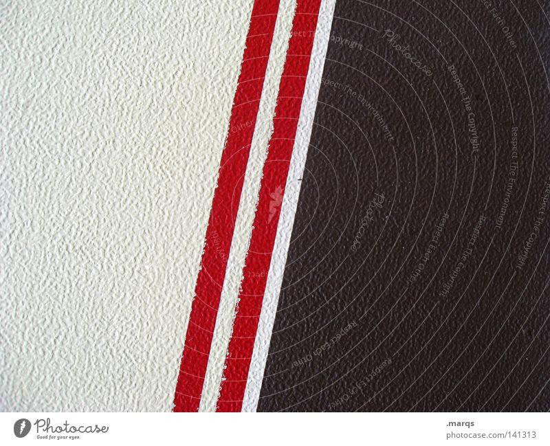 The Red Stripes weiß rot Farbe Linie braun Hintergrundbild Streifen Oberfläche Doppelbelichtung sehr wenige reduzieren