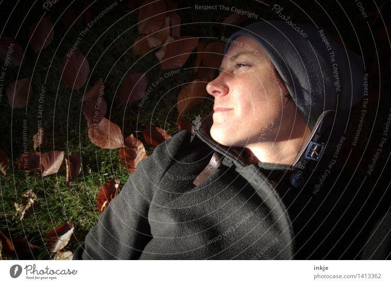 luzides Träumen Lifestyle Stil Wellness harmonisch Wohlgefühl Zufriedenheit Sinnesorgane Erholung ruhig Freizeit & Hobby Frau Erwachsene Leben Gesicht 1 Mensch