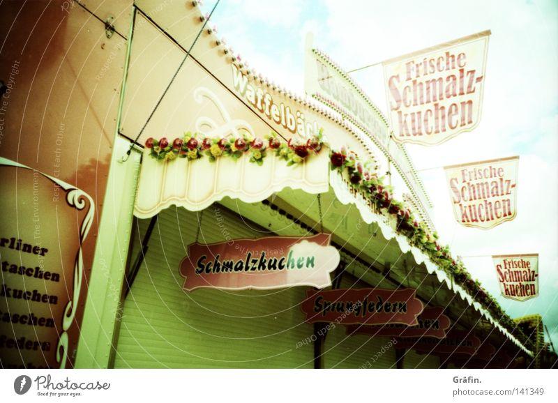 [HH08.2] Lecker Freude Wohnung geschlossen Schilder & Markierungen Kindheitserinnerung Süßwaren lecker Jahrmarkt Duft Dom Backwaren Schausteller Sommerfest