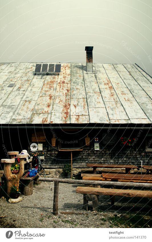 brotzeit Ernährung Erholung Berge u. Gebirge Bewegung wandern gehen laufen Ausflug Pause Hütte Bayern anstrengen Bergsteigen aufsteigen Alm Allgäu