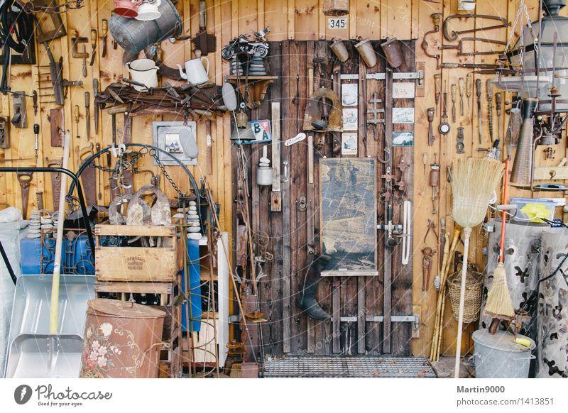 Tool Shop Freizeit & Hobby Basteln heimwerken Berufsausbildung Handwerker Werkzeug Schere Hammer Säge Axt Besen Schaufel Bürste Seil Leiter Holz Stahl Rost