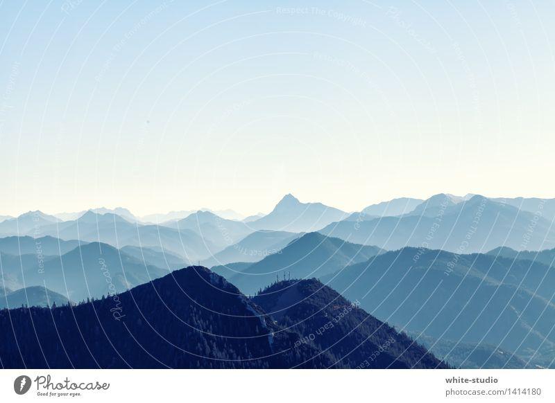 Busenberg Natur blau Landschaft Ferne Berge u. Gebirge Umwelt Sport Treppe Nebel wandern Frauenbrust Aussicht Fitness Gipfel Unendlichkeit Niveau
