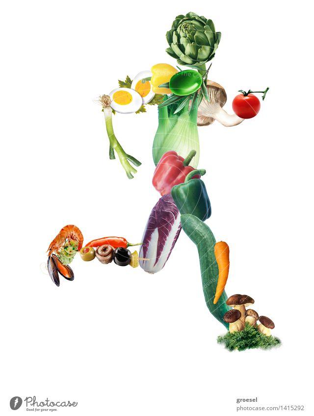 fitness- Läufer Freude Bewegung Sport Gesundheit laufen genießen Fitness Sport-Training Diät