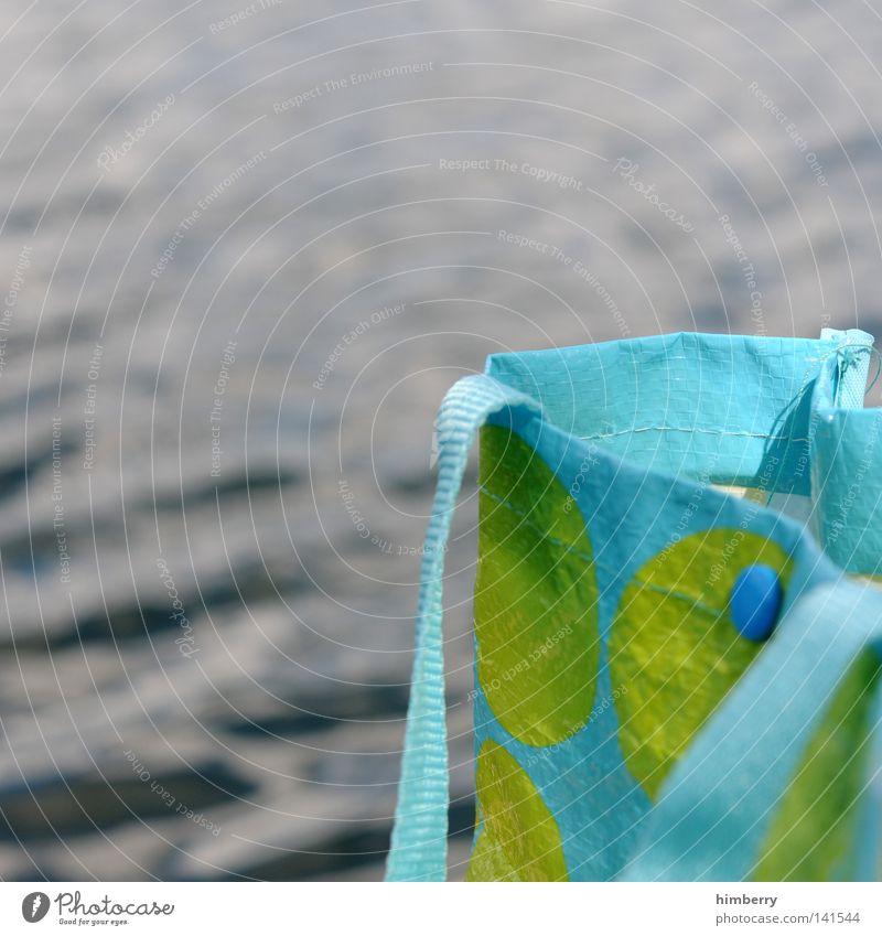 ohne tasche keine competition grün Sommer Strand Meer Ferien & Urlaub & Reisen Spielen See Wellen Freizeit & Hobby Punkt Kunststoff türkis Segeln Sportveranstaltung Sonnenbad Tasche