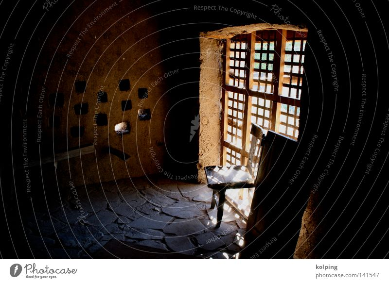 Hacienda Fenster Wärme Raum offen Physik Südamerika Bolivien