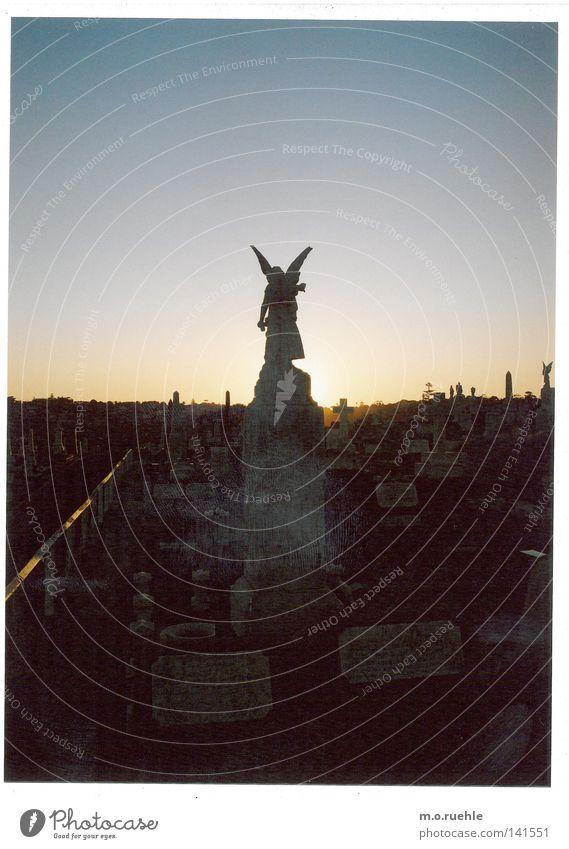 fino alla morte Einsamkeit Tod Kunst Trauer Engel Ende Sehnsucht Statue Denkmal Verzweiflung Ruhestand Skulptur Wahrzeichen Australien Christentum Schicksal