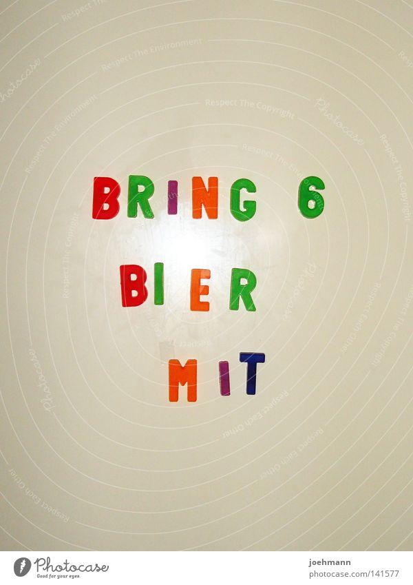 sixpack weiß Freude Farbe Party Freundschaft Metall kaufen Lifestyle Freizeit & Hobby Buchstaben Bier Alkohol Anordnung Erinnerung Befehl Bedeutung
