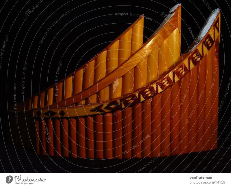 Panflute33 Musik Holz Dinge Handwerk Bambusrohr Flöte Blasinstrumente Panflöte