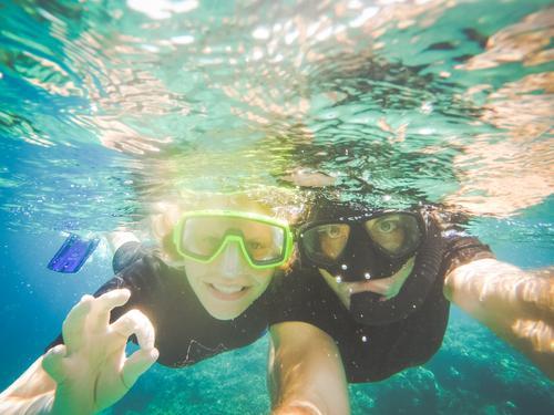 Waterproof Freizeit & Hobby tauchen Schnorcheln Badeurlaub Schwimmen & Baden Ferien & Urlaub & Reisen Tourismus Ausflug Abenteuer Sommer Sommerurlaub Strand