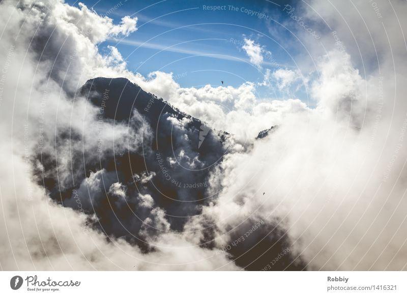 Himmelinsel Natur Ferien & Urlaub & Reisen Landschaft Wolken Ferne Berge u. Gebirge Freiheit Erde Horizont Tourismus frei wandern Idylle Ausflug Abenteuer