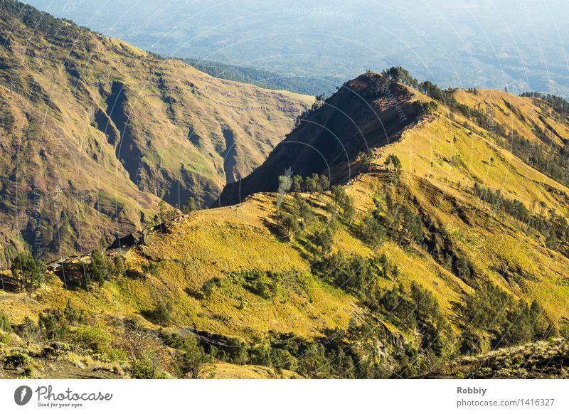 Zeltlager Natur Ferien & Urlaub & Reisen Landschaft Ferne Berge u. Gebirge Freiheit Horizont Tourismus wandern Idylle Ausflug Abenteuer Gipfel Camping