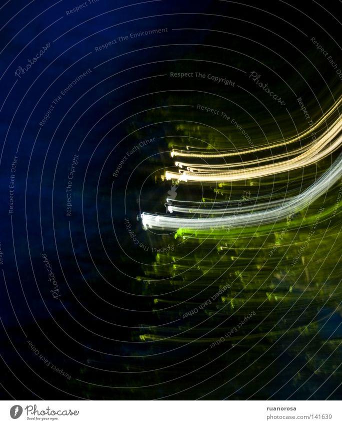 Etiäinen weiß grün Baum Farbe gelb dunkel Bewegung Beleuchtung Hintergrundbild Boden obskur seltsam Zielscheibe Nachthimmel Kulisse Reaktionen u. Effekte