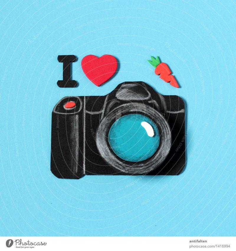 I <3 photocase rot Freude schwarz Design Freizeit & Hobby Schriftzeichen Fröhlichkeit Herz Fotografie Zeichen Fotokamera türkis Begeisterung falsch Basteln