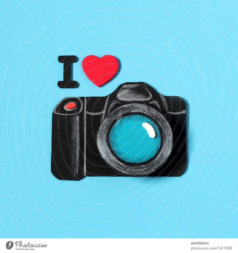 I <3 photography rot Freude schwarz Kunst Freizeit & Hobby Schriftzeichen fantastisch Herz Fotografie Zeichen Medien zeichnen Leidenschaft Fotokamera türkis i