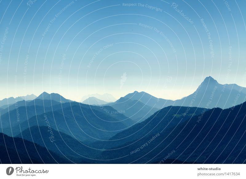 Facettenreich Umwelt Natur Landschaft Klima Wetter Schönes Wetter natürlich Außenaufnahme Abenteuer Nebel Dunst wandern Erholung Berge u. Gebirge facettenreich