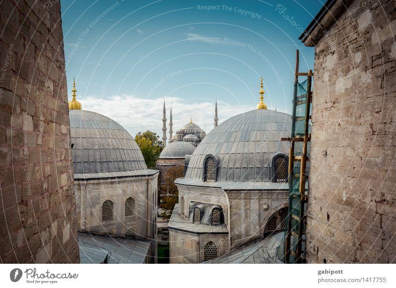 Glauben und glauben lassen! Tourismus Ausflug Abenteuer Ferne Sightseeing Städtereise Istanbul Türkei Hauptstadt Stadtzentrum Altstadt Kirche Dom Bauwerk