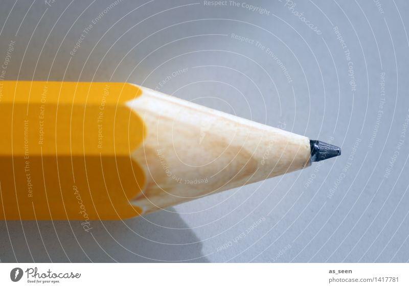 Start Farbe ruhig gelb Stil Kunst Schule liegen Büro Kreativität lernen Spitze Buch Studium Papier Bildung schreiben