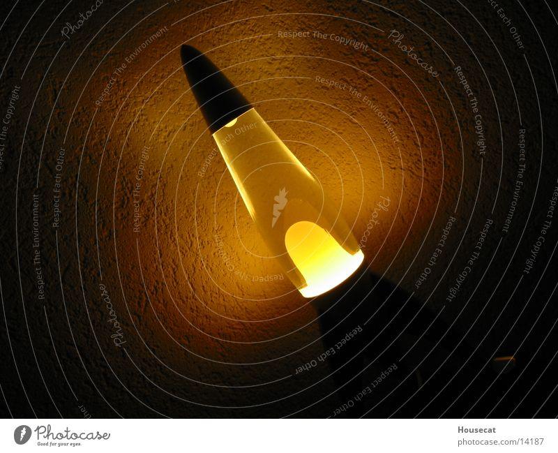 Lava Obsession Lavalampe Licht Wachs Lampe dunkel obskur Reaktionen u. Effekte