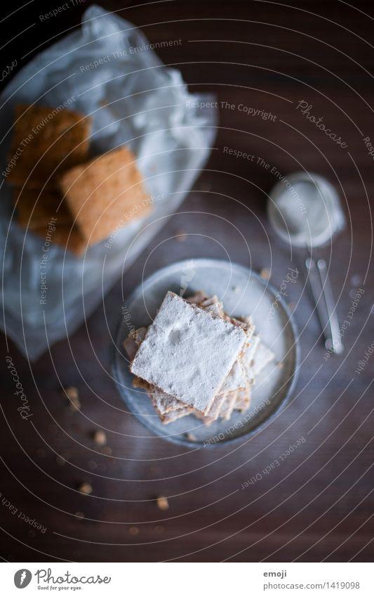 Kekse Weihnachten & Advent Ernährung süß lecker Süßwaren Kuchen Dessert Keks Puderzucker