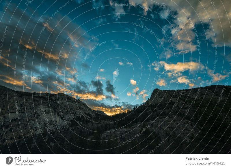 Morgenhimmel in der Sierra Natur Ferien & Urlaub & Reisen Sommer Erholung Landschaft ruhig Ferne Berge u. Gebirge Umwelt Leben Freiheit Tourismus Zufriedenheit