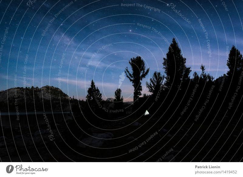 Nachtlager Natur Ferien & Urlaub & Reisen Pflanze Baum Erholung Landschaft ruhig Ferne Berge u. Gebirge Umwelt Freiheit Stimmung Zufriedenheit Wetter Tourismus