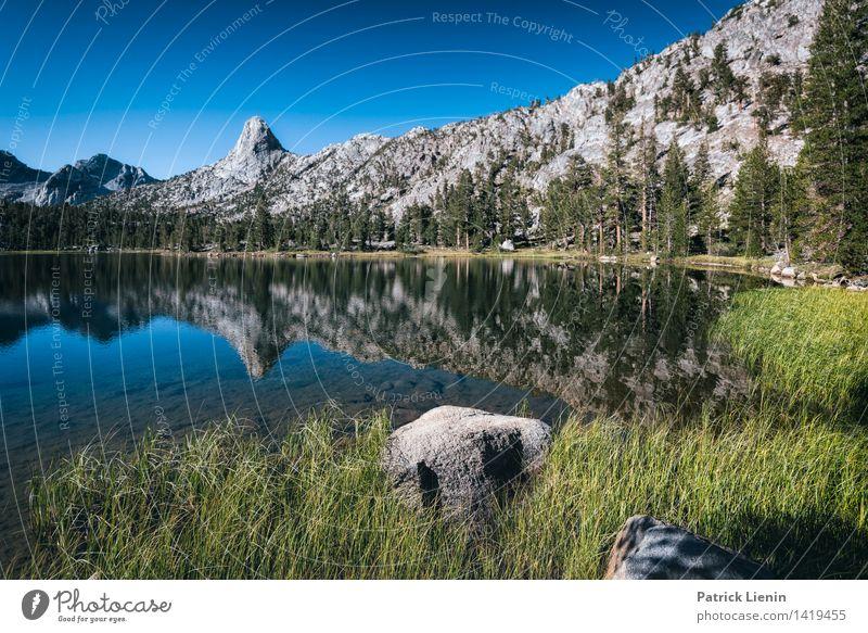 Arrowhead Lake Zufriedenheit Sinnesorgane Ferien & Urlaub & Reisen Tourismus Ausflug Abenteuer Ferne Freiheit Expedition Sommerurlaub Berge u. Gebirge Umwelt