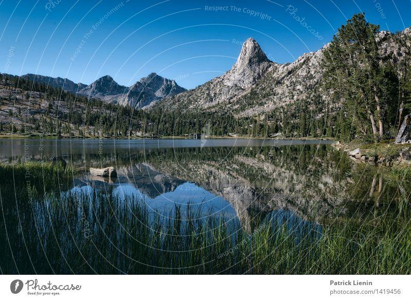 Fin Dome Natur Pflanze Wasser Baum Erholung Landschaft ruhig Ferne Berge u. Gebirge Umwelt Gras Freiheit See Felsen Wetter wandern