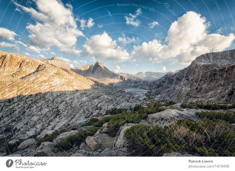 Mather Pass Himmel Natur Ferien & Urlaub & Reisen Pflanze Sommer Erholung Landschaft Wolken Ferne Berge u. Gebirge Umwelt Freiheit Felsen Zufriedenheit Wetter