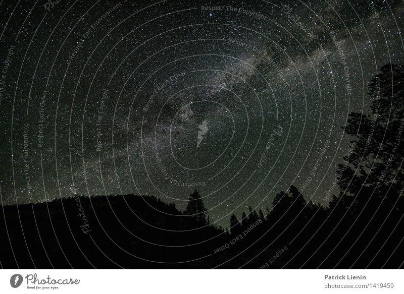 Milky Way Himmel Natur Ferien & Urlaub & Reisen Sommer Landschaft Ferne Berge u. Gebirge Umwelt Freiheit Stimmung Horizont Zufriedenheit Tourismus wandern