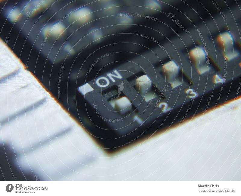 On1234 Schalter Schieberegler Elektrisches Gerät Technik & Technologie Switch Einstellungen
