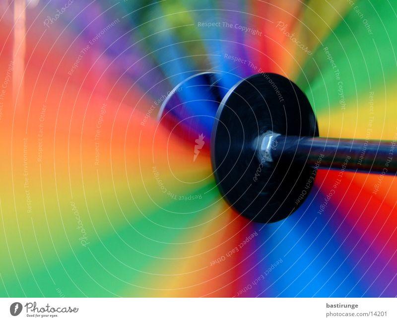Windrad Farbe Bewegung Freizeit & Hobby Spielzeug Drehung