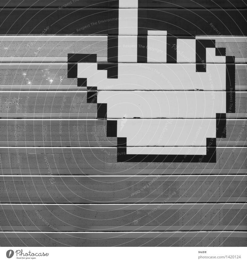Streng geheim | Login Hand lustig Kommunizieren Computer Telekommunikation einfach Zeichen Information Netzwerk Kontakt Internet Medien Pfeil