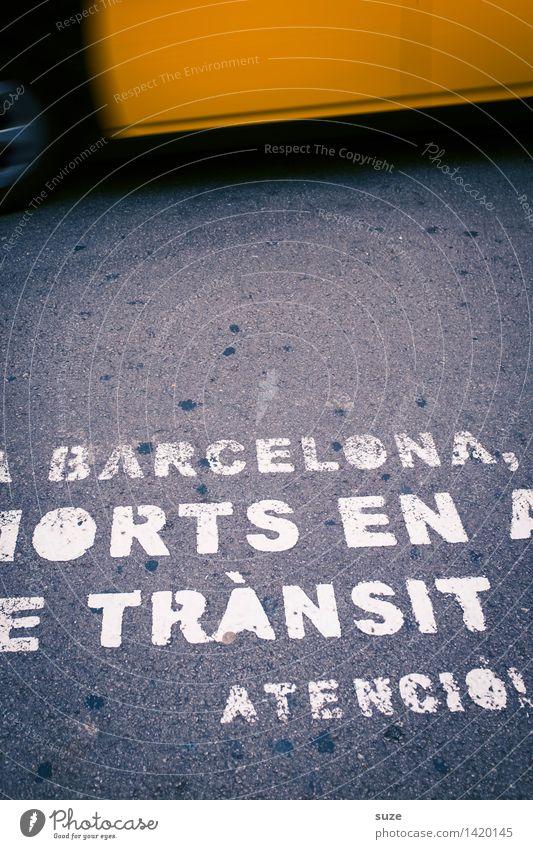 Taxi-Taxi Stadt gelb Straße Bewegung Lifestyle grau Business Tourismus Verkehr Schilder & Markierungen Geschwindigkeit Hinweisschild Güterverkehr & Logistik