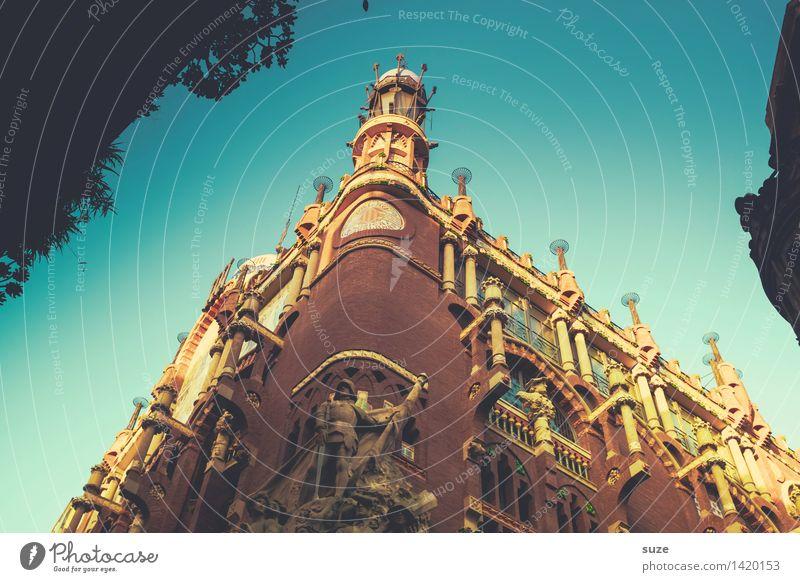 Musikpalast Ferien & Urlaub & Reisen alt Architektur Lifestyle Stil Gebäude Kunst Tourismus Fassade Dekoration & Verzierung ästhetisch Europa Kultur historisch