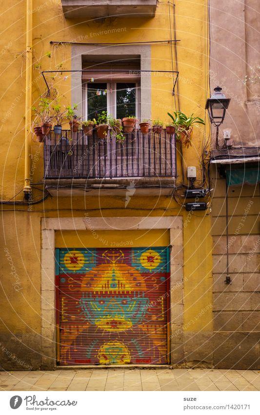 Sesam, öffne dich! Ferien & Urlaub & Reisen Stadt Architektur Leben Graffiti lustig Lifestyle Kunst außergewöhnlich Dekoration & Verzierung Kultur Zeichen