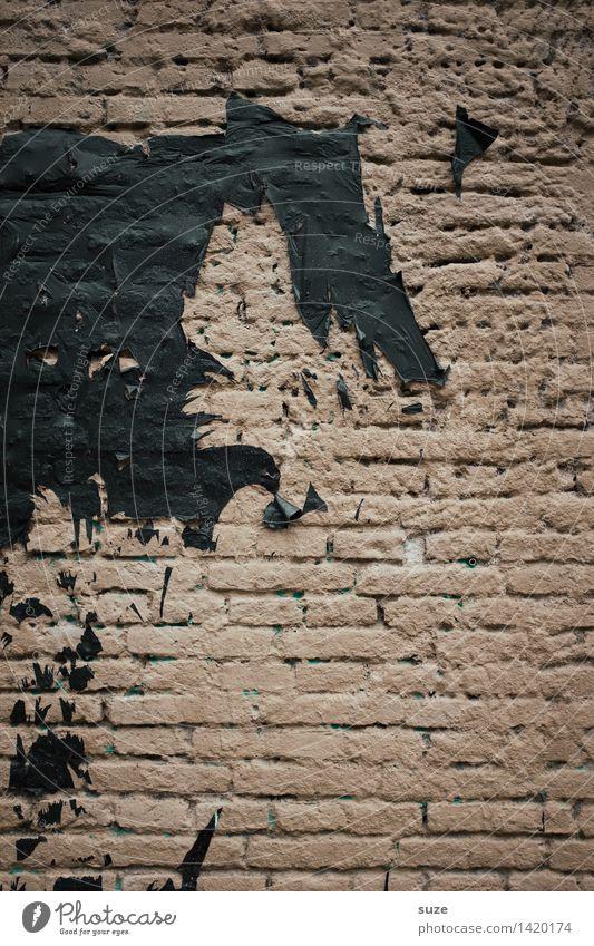 Der Grinch dunkel schwarz Anti-Weihnachten Wand Mauer Tod braun Angst dreckig verrückt gefährlich Todesangst Zukunftsangst tierisch gruselig trashig