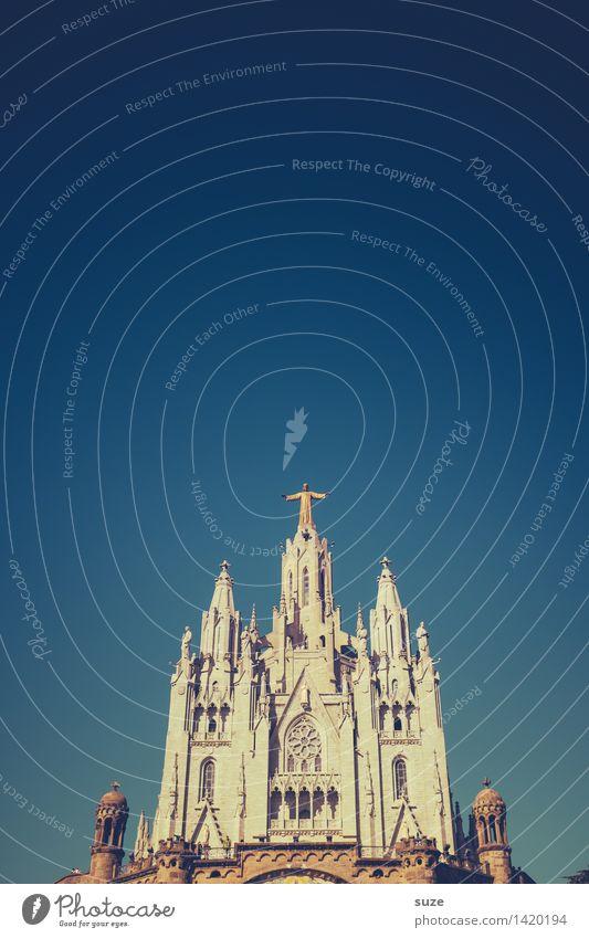 Ihr Kinderlein kommet ... Himmel Himmel (Jenseits) Architektur Religion & Glaube Tourismus Kirche Platz Europa Kultur Hoffnung historisch Bauwerk Spanien
