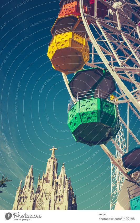 Heidenspaß Himmel Freude Religion & Glaube Spielen Tourismus Freizeit & Hobby Platz Kirche Lebensfreude Europa Kultur Schönes Wetter historisch Bauwerk Spanien