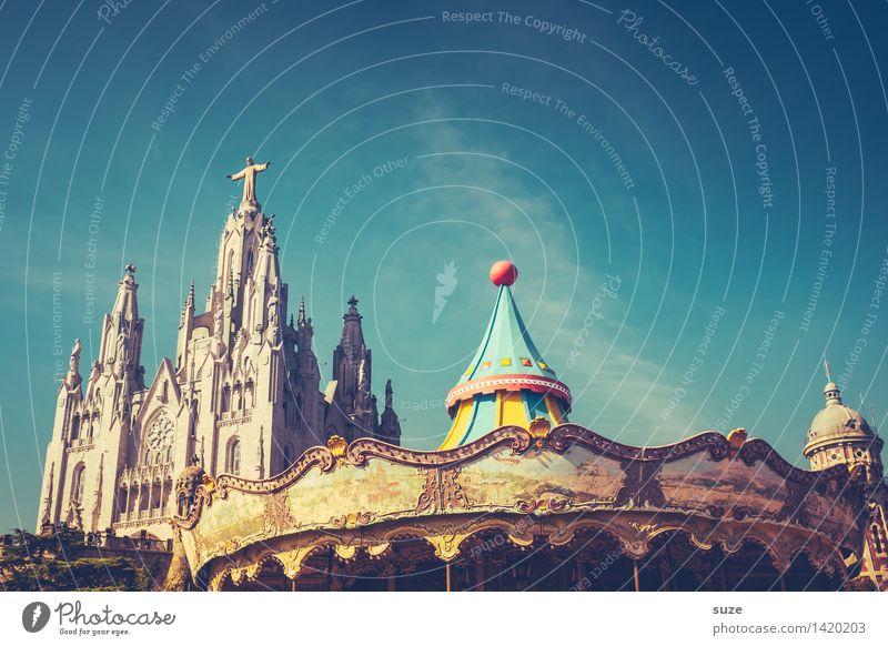 Spielberg Freude Religion & Glaube Spielen Tourismus Freizeit & Hobby Europa Kultur Platz Lebensfreude Kindheitserinnerung historisch Bauwerk Spanien