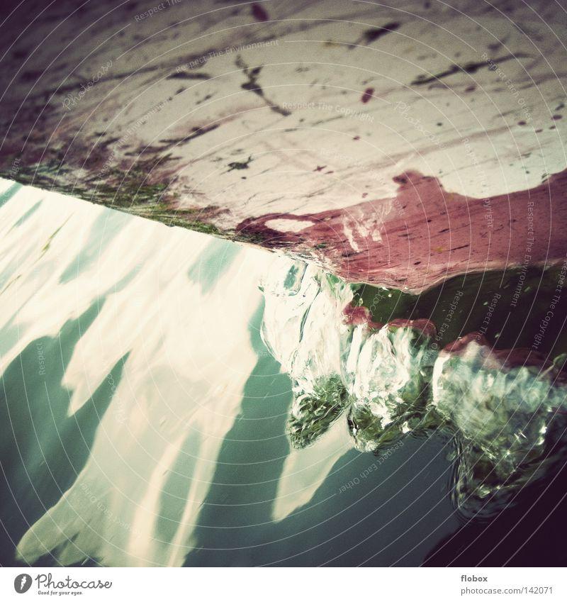 row, row, row your boat... Natur alt Wasser Ferien & Urlaub & Reisen Meer Freude Erholung Holz See Wasserfahrzeug Wellen Freizeit & Hobby Verkehr Fluss Güterverkehr & Logistik Sturm