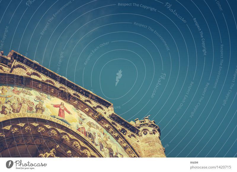 Himmlischer Bogen Himmel Himmel (Jenseits) Architektur Religion & Glaube Kirche Europa Kultur historisch Hoffnung Sehenswürdigkeit Bauwerk Wahrzeichen Spanien