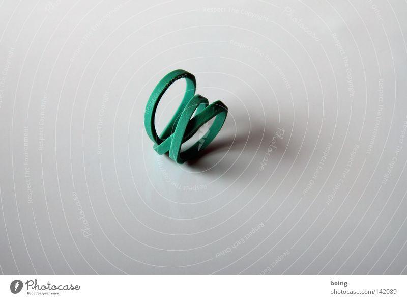Freundschaftsband Gummi Zusammenhalt binden Achterbahn Schlaufe Schleife Spirale Armband Kreis Ring Modeschmuck Haushalt Vertrauen Gummiband Gummiring