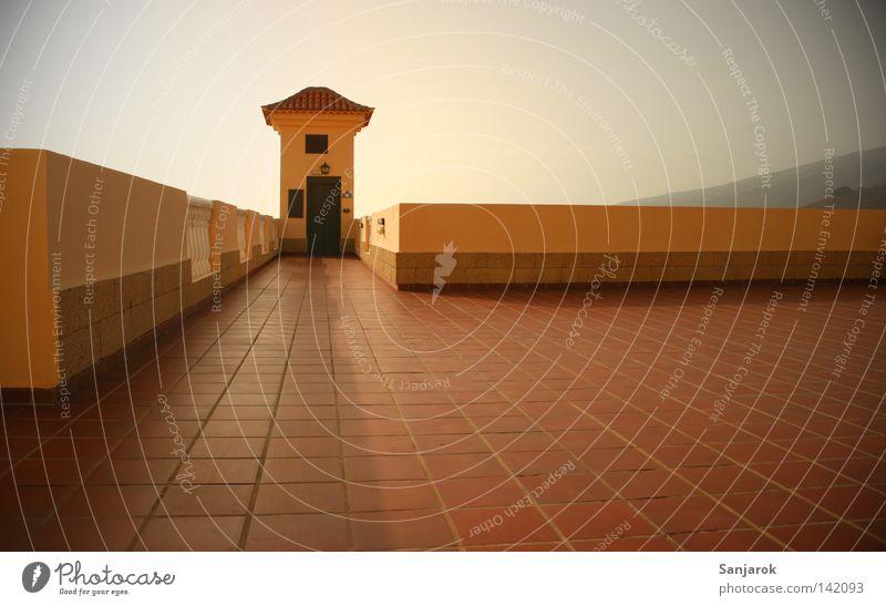 Balcona del Atantico Turm Fliesen u. Kacheln Teneriffa Vignettierung Sommer Sonne Balkon reich Fahrstuhl Häusliches Leben Platz Raum Örtlichkeit Freiraum