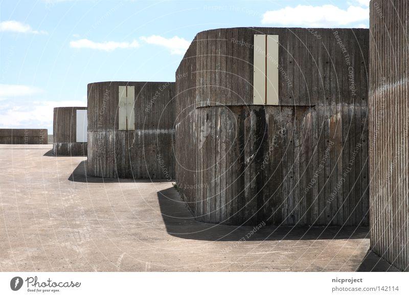 Olympia Bunker Architektur Beton Kanada Siebziger Jahre Golfplatz Olympiade Achtziger Jahre Montreal 1956