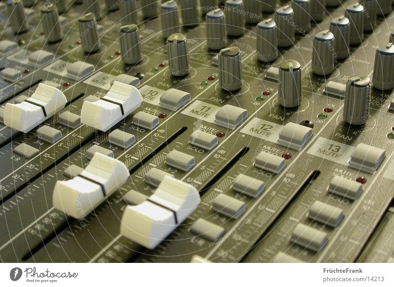 Mischpult Ton Entertainment Musikmischpult Regler