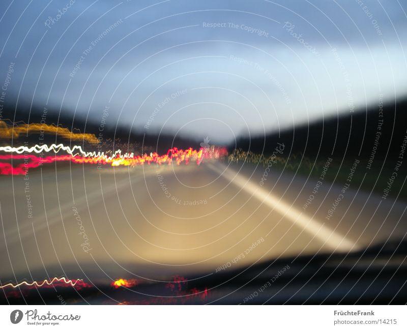 4 Sekunden Autobahn